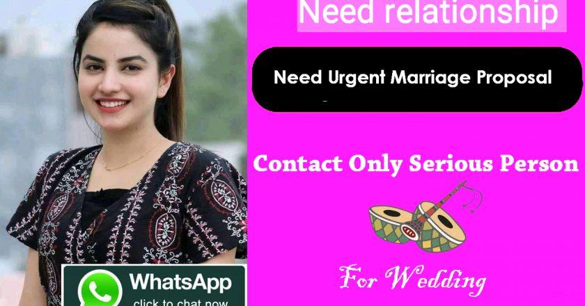 Need urgent marriage proposal for School Teacher