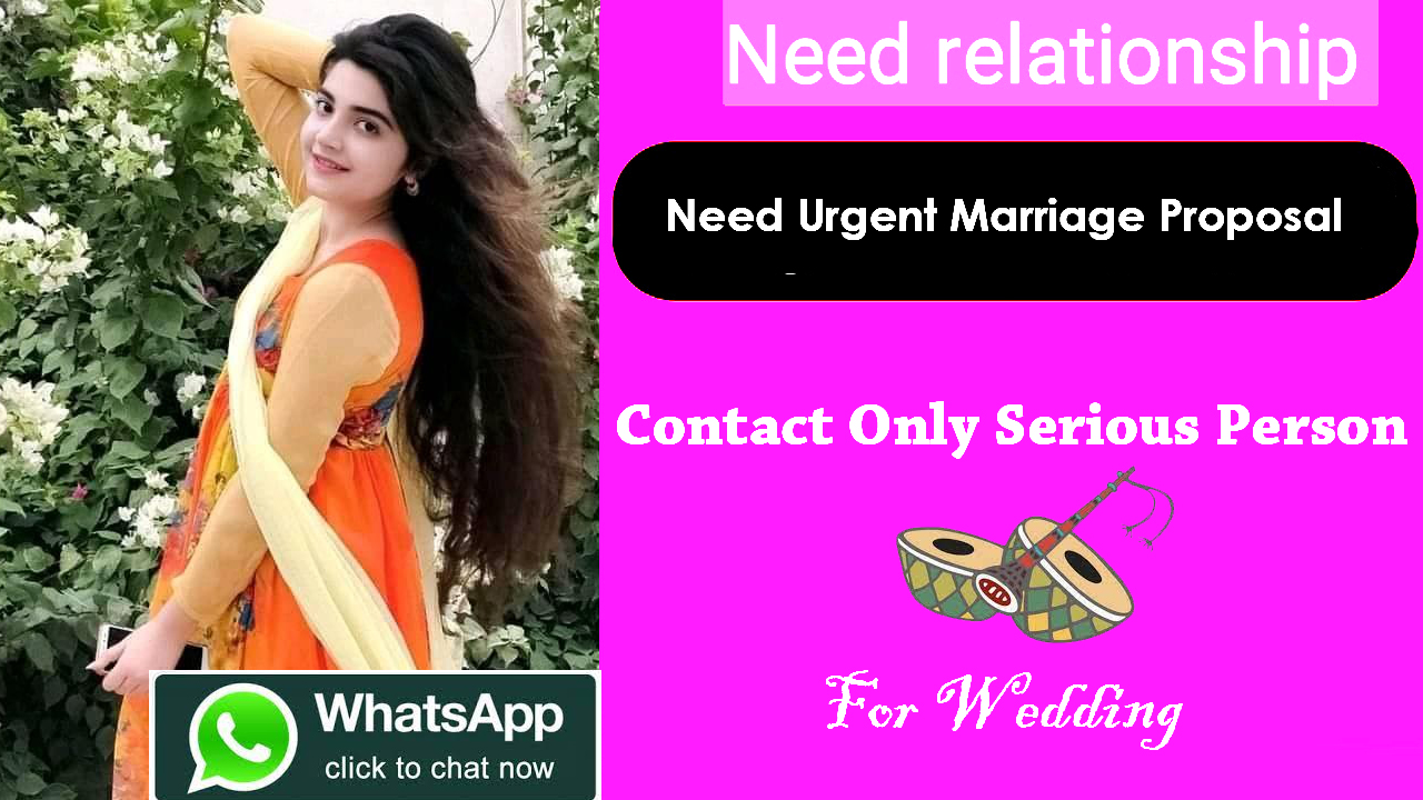 Need urgent marriage proposal for Nurse girl