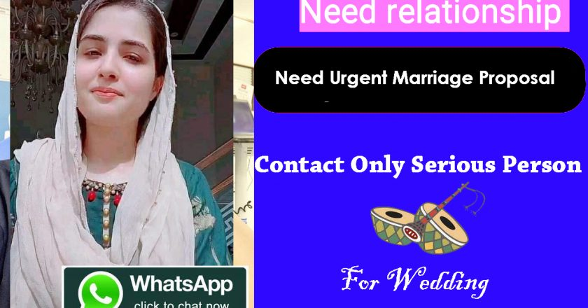 Need urgent marriage proposal for smart Nurse
